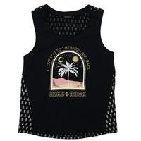 衣服 女孩 短袖体恤 Ikks XS10012-02-J 黑色