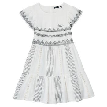 衣服 女孩 短裙 Ikks XS30012-11-J 白色
