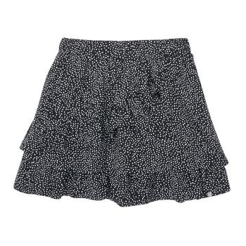 衣服 女孩 半身裙 Ikks XS27062-02-C 黑色