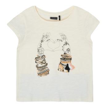 衣服 女孩 短袖体恤 Ikks XS10002-11-C 白色
