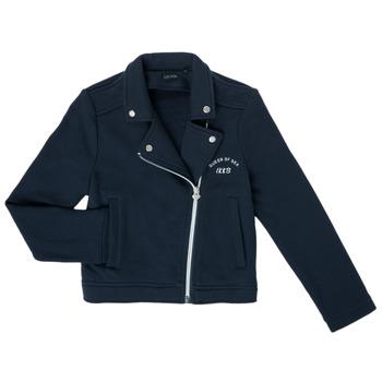衣服 女孩 羊毛开衫 Ikks XS17072-48-C 海蓝色
