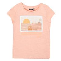 衣服 女孩 短袖体恤 Ikks XS10332-32-C 玫瑰色