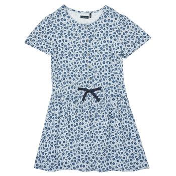 衣服 女孩 短裙 Ikks XS30102-48-C 蓝色