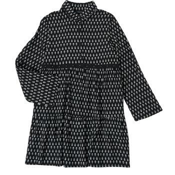 衣服 女孩 短裙 Ikks XS30002-02-C 黑色