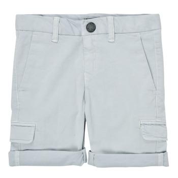 衣服 男孩 短裤&百慕大短裤 Ikks XS25023-40-C 蓝色