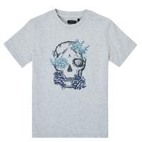 衣服 男孩 短袖体恤 Ikks XS10243-21-C 灰色