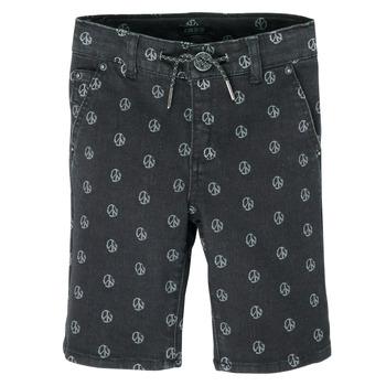 衣服 男孩 短裤&百慕大短裤 Ikks XS25063-02-C 黑色