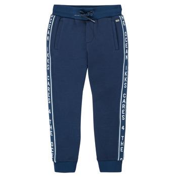 衣服 男孩 厚裤子 Ikks XS23003-48-C 海蓝色