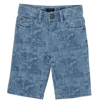 衣服 男孩 短裤&百慕大短裤 Ikks XS25253-82-C 蓝色