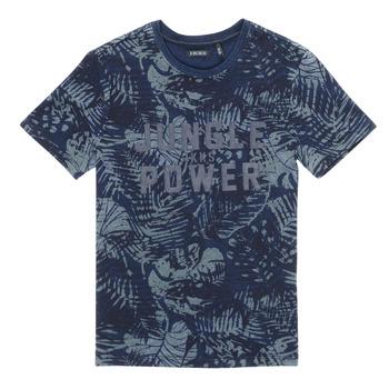 衣服 男孩 短袖体恤 Ikks XS10153-46-C 海蓝色