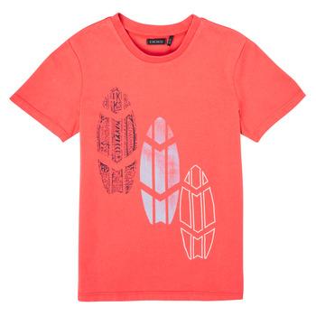 衣服 男孩 短袖体恤 Ikks XS10043-79-J 红色
