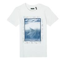 衣服 男孩 短袖体恤 Ikks XS10033-19-J 白色