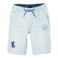 衣服 男孩 短裤&百慕大短裤 Ikks XS25223-82-J 蓝色