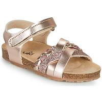 鞋子 女孩 凉鞋 Mod'8 KOENIA 玫瑰色 / 金色