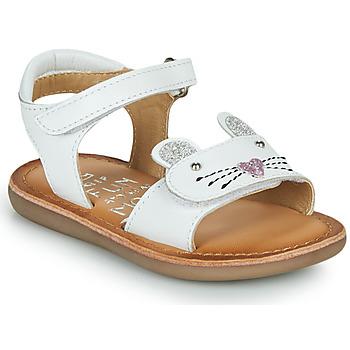 鞋子 女孩 凉鞋 Mod'8 CLOONIE 白色