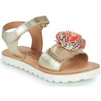 鞋子 女孩 凉鞋 Mod'8 JELLINE 金色 / 珊瑚色
