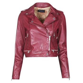 衣服 女士 皮夹克/ 人造皮革夹克 Oakwood KYOTO 波尔多红