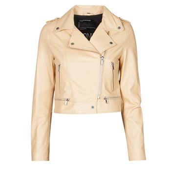 衣服 女士 皮夹克/ 人造皮革夹克 Oakwood YOKO 奶油色
