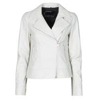 衣服 女士 皮夹克/ 人造皮革夹克 Oakwood MARJORY 白色