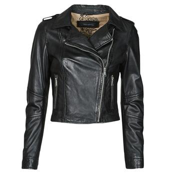 衣服 女士 皮夹克/ 人造皮革夹克 Oakwood ALIZEE 黑色
