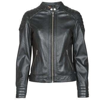 衣服 女士 皮夹克/ 人造皮革夹克 Oakwood ELLA 黑色