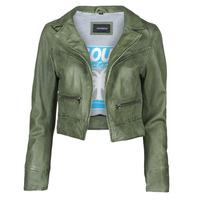 衣服 女士 皮夹克/ 人造皮革夹克 Oakwood TRISH 绿色