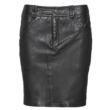 衣服 女士 半身裙 Oakwood CROSS 黑色