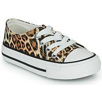 鞋子 女孩 球鞋基本款 Citrouille et Compagnie OTAL Leopard