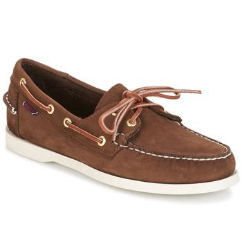 鞋子 男士 船鞋 Sebago 仕品高 DOCKSIDES 棕色
