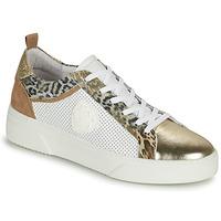 鞋子 女士 球鞋基本款 Philippe Morvan SOAPY V3 白色 / 棕色