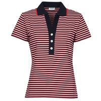 衣服 女士 短袖保罗衫 Liu Jo WA1142-J6183-T9701 海蓝色 / 白色 / 红色