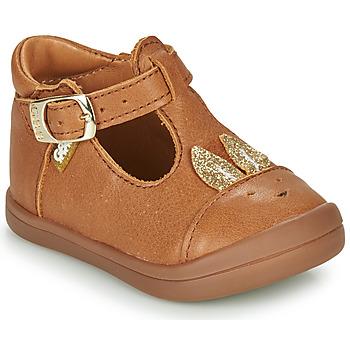 鞋子 女孩 平底鞋 GBB ANINA 棕色