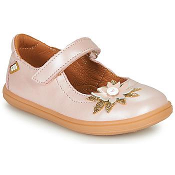 鞋子 女孩 平底鞋 GBB FANETTA 玫瑰色
