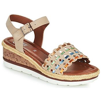 鞋子 女士 凉鞋 Ara CADIZ-S 米色