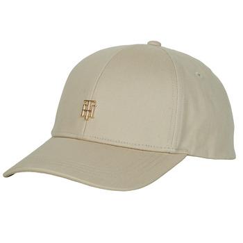 纺织配件 女士 鸭舌帽 Tommy Hilfiger TH CAP 米色