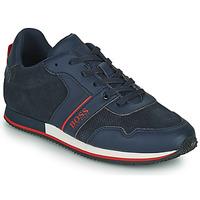 鞋子 男孩 球鞋基本款 BOSS HOLLA 蓝色