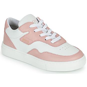 鞋子 女孩 球鞋基本款 BOSS PAOLA 白色 / 玫瑰色
