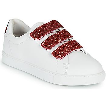 鞋子 女士 球鞋基本款 Bons baisers de Paname EDITH BACK LIPS 白色