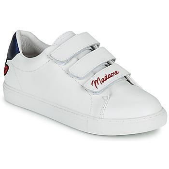 鞋子 女士 球鞋基本款 Bons baisers de Paname EDITH MADAME MONSIEUR 白色