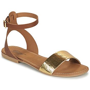 鞋子 女士 凉鞋 Betty London GIMY 驼色 / 金色