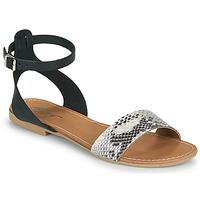 鞋子 女士 凉鞋 Betty London GIMY 黑色 / 灰色