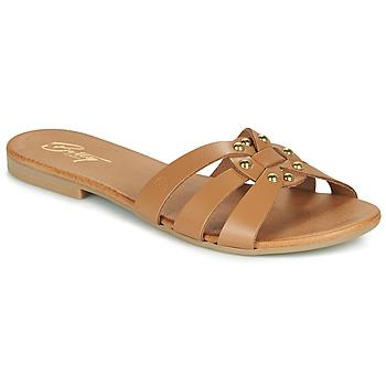 鞋子 女士 休闲凉拖/沙滩鞋 Betty London OISO 驼色