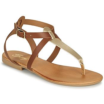鞋子 女士 凉鞋 Betty London ORIOUL 驼色 / 金色