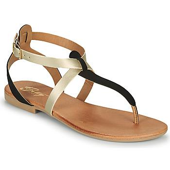 鞋子 女士 凉鞋 Betty London OVERNE 黑色 / 金色