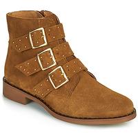 鞋子 女士 短筒靴 Betty London LYS 棕色