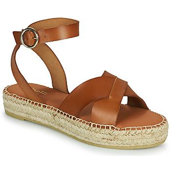 鞋子 女士 凉鞋 Minelli TRONUIT 棕色