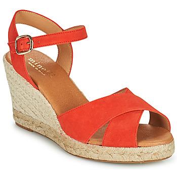 鞋子 女士 凉鞋 Minelli OMELLA 红色
