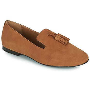 鞋子 女士 皮便鞋 Minelli VELICRI 棕色