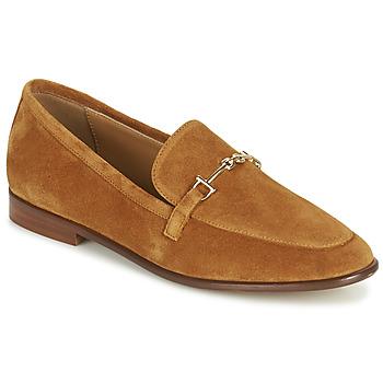 鞋子 女士 皮便鞋 Minelli PYLLA 棕色