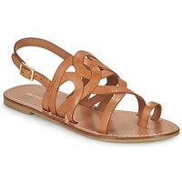 鞋子 女士 凉鞋 Minelli NOUNNA 棕色